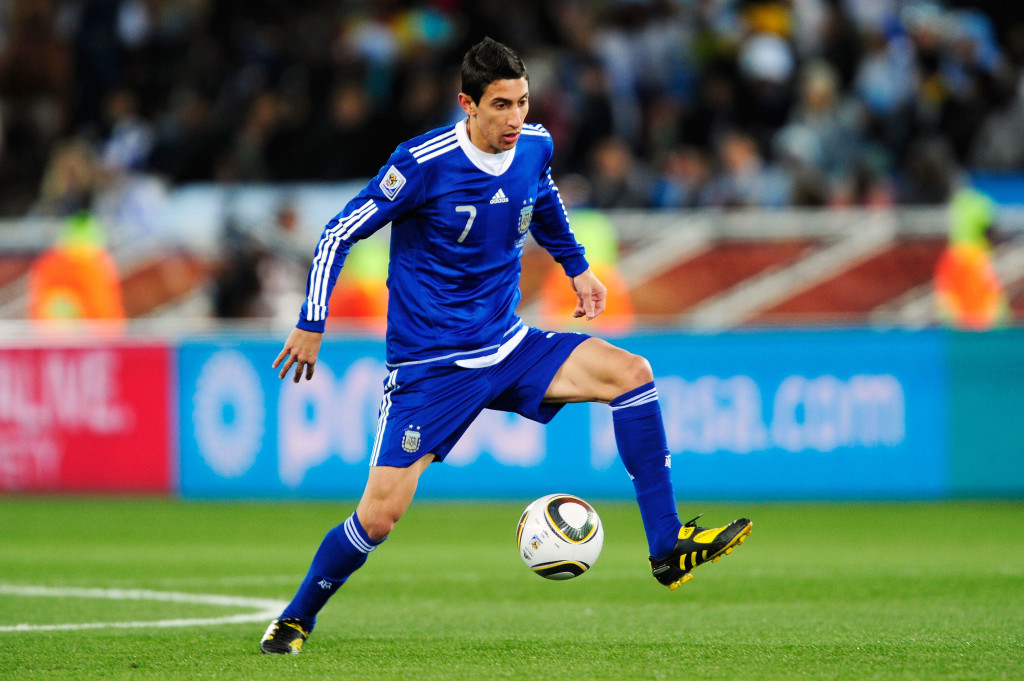 Angel Di Maria was one of the best young players at the 2010 World Cup.