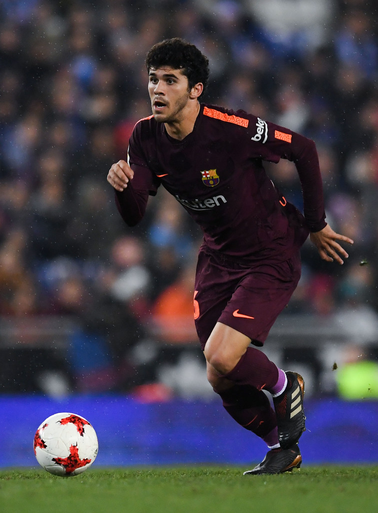 Carles Alena is on the verge of a first-team breakthrough.