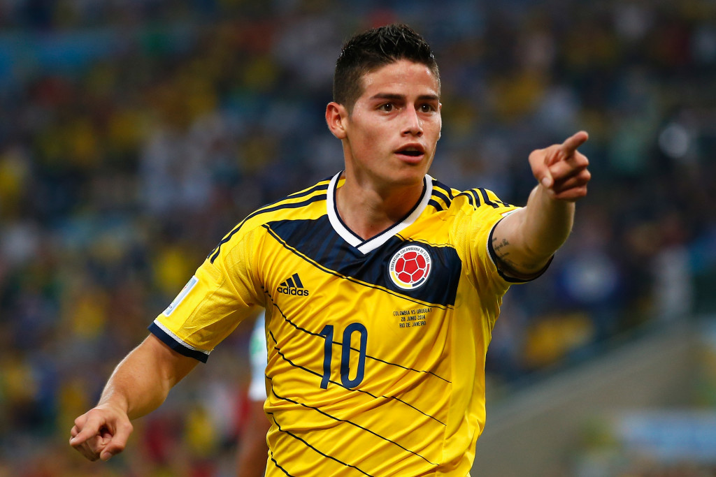 James Rodriguez earned a big-money move after starring at the 2014 World Cup.