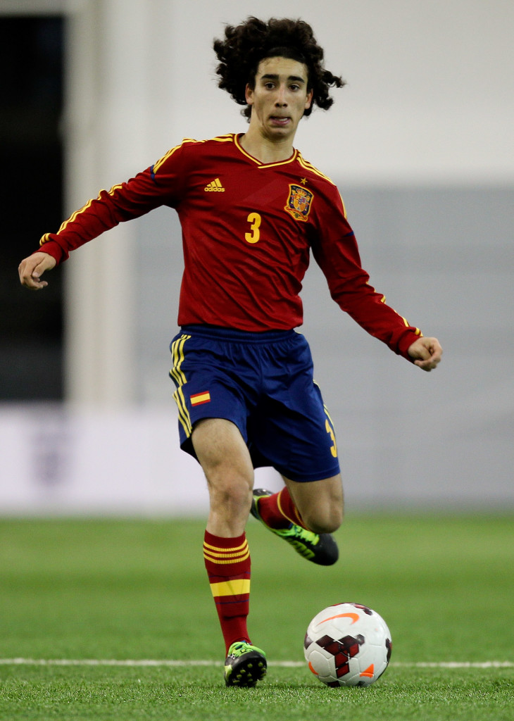 Marc Cucurella may be wondering if he has a future at Barcelona.