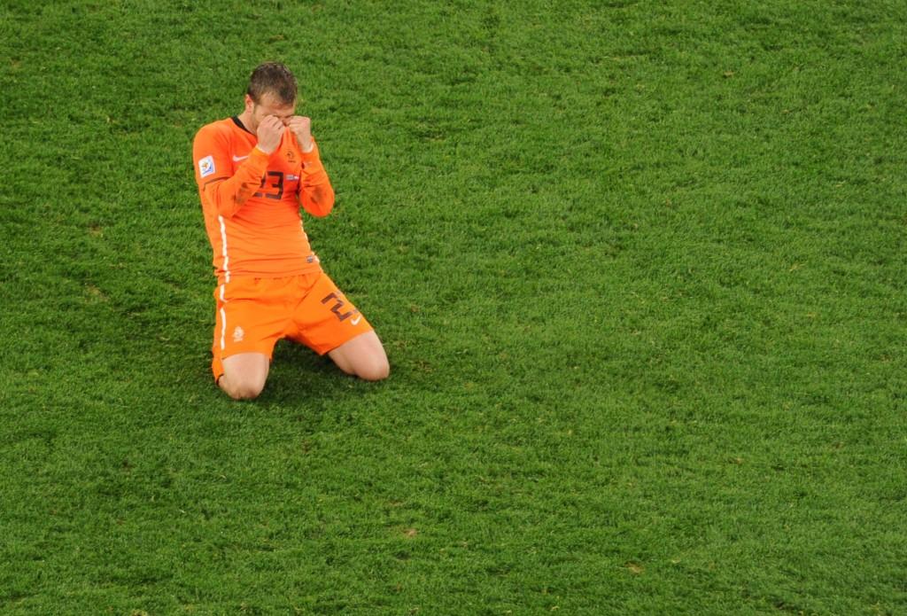 Rafael Van der Vaart led the Netherlands to the final in 2010.