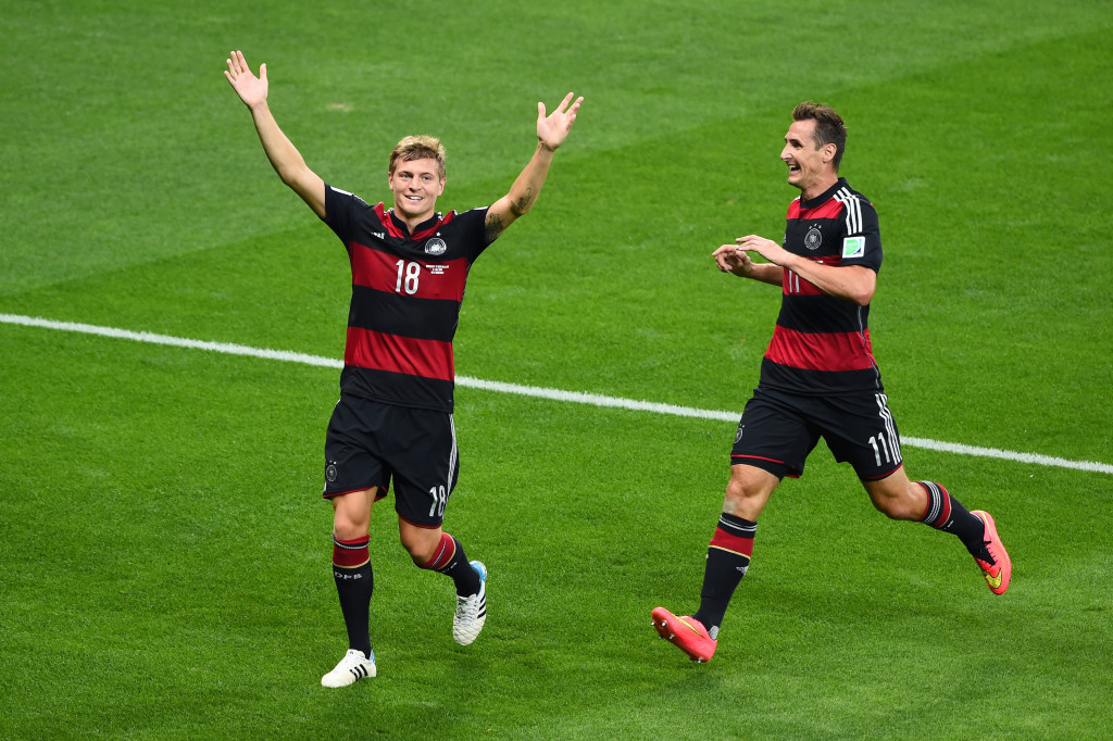 Toni Kroos led Germany to the 2014 World Cup trophy, then moved to Real Madrid.