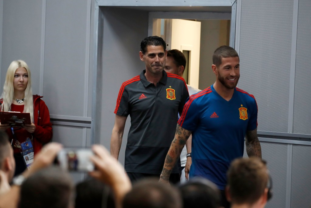 Ramos and Hierro are ready to put Spain's turbulent prelude behind them.