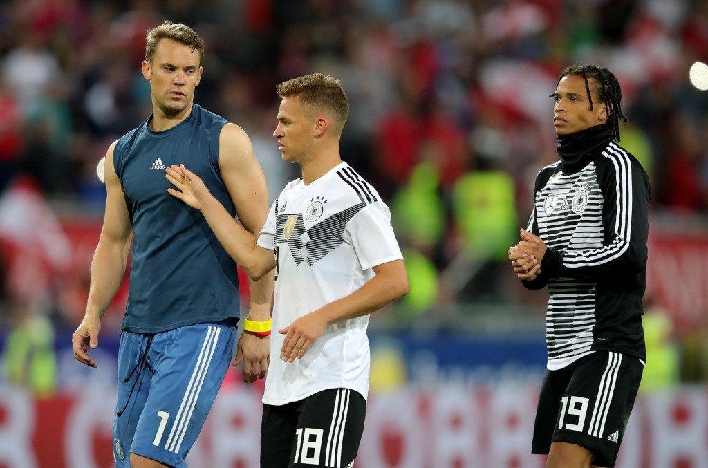 There's been an air of complacency about Germany in recent fixtures.