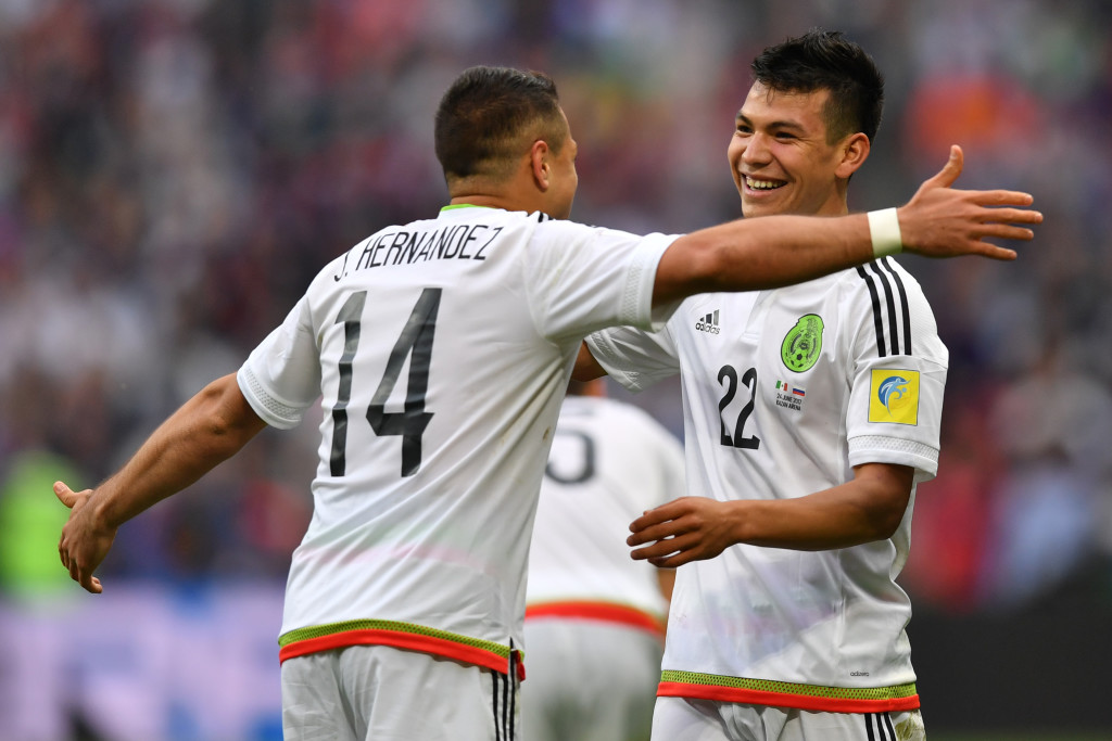 Can Chicharito and Lozano help Mexico meet the expectations of their fans?