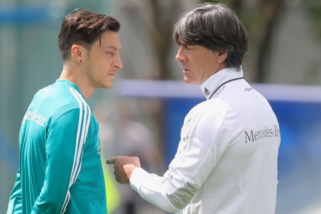 Playing it safe may be the way to go for Ozil and Germany.