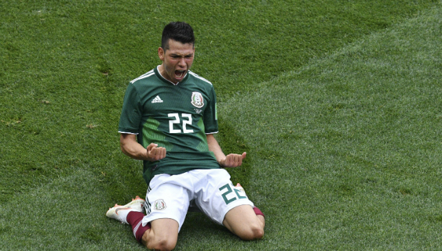 Hirving Lozano and Mexico must find the mental strength to overcome Brazil.