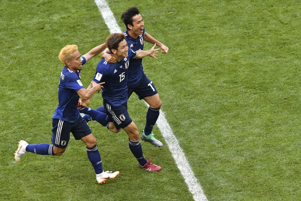 Japan are in good position to qualify for the knockout stages.