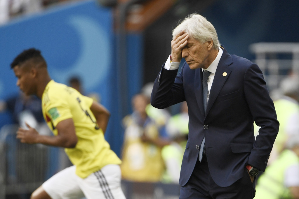 It was that sort of day for Colombia manager Jose Pekerman.