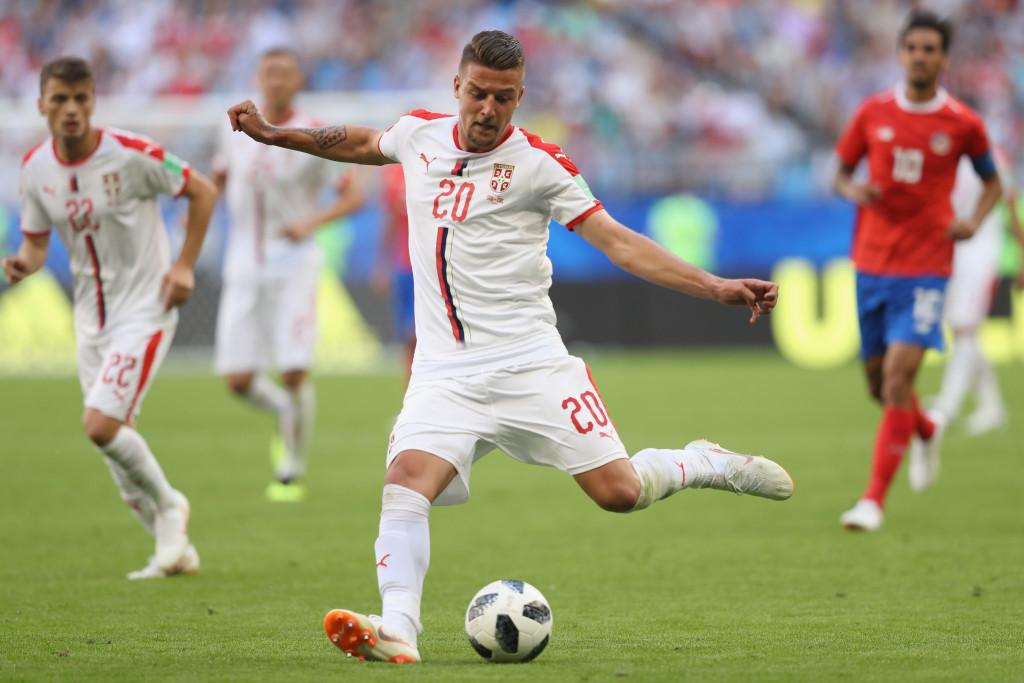 Milinkovic-Savic dominated the game against Costa Rica.