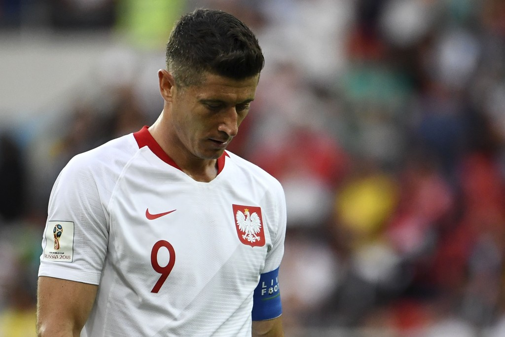 Robert Lewandowski couldn't hit the heights for Poland into their opener.