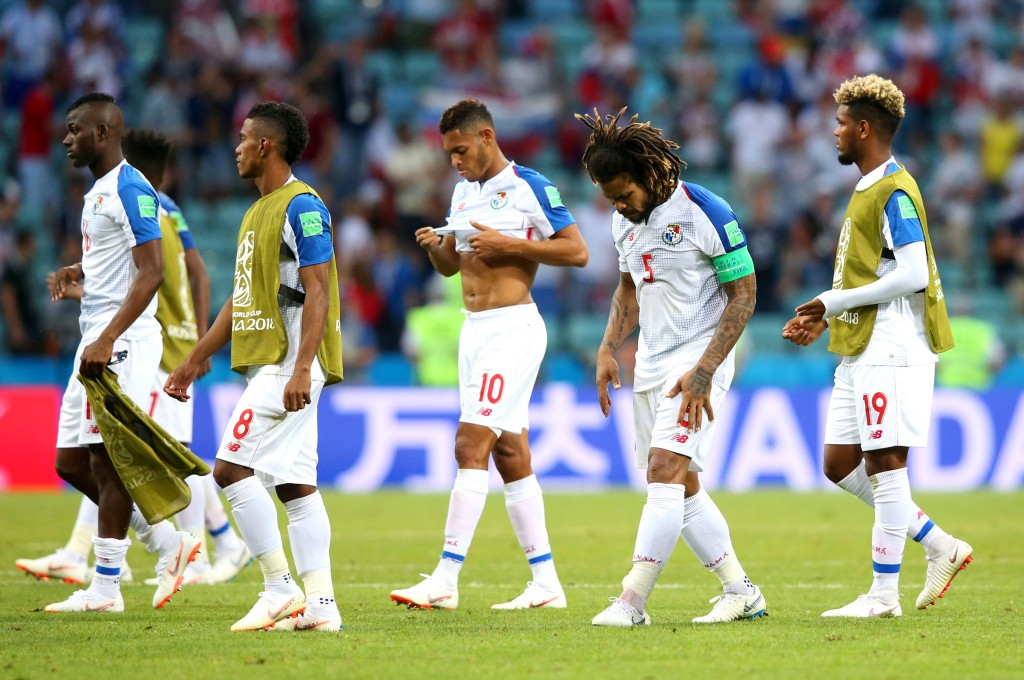 Panama fought gamely in their 3-0 loss to Belgium.