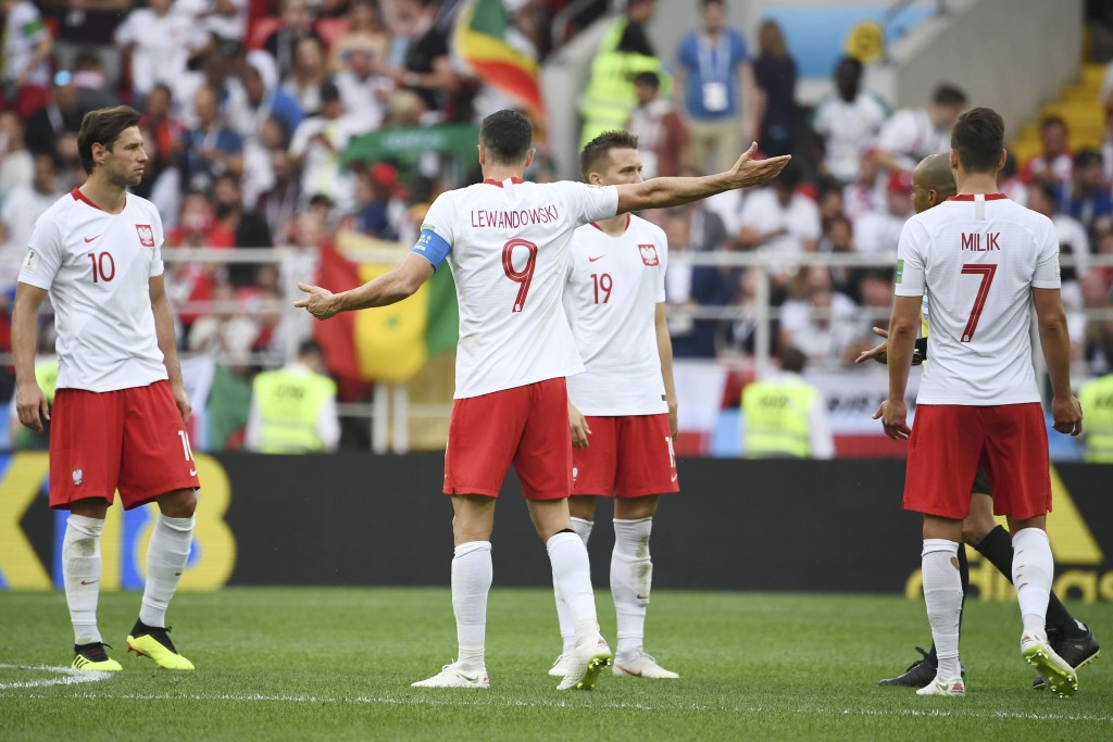 Poland are in a tough spot in the group, as are Colombia.