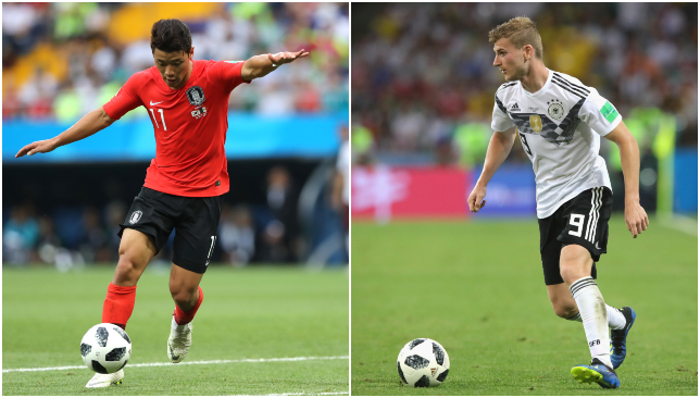 Germany out of World Cup 2018