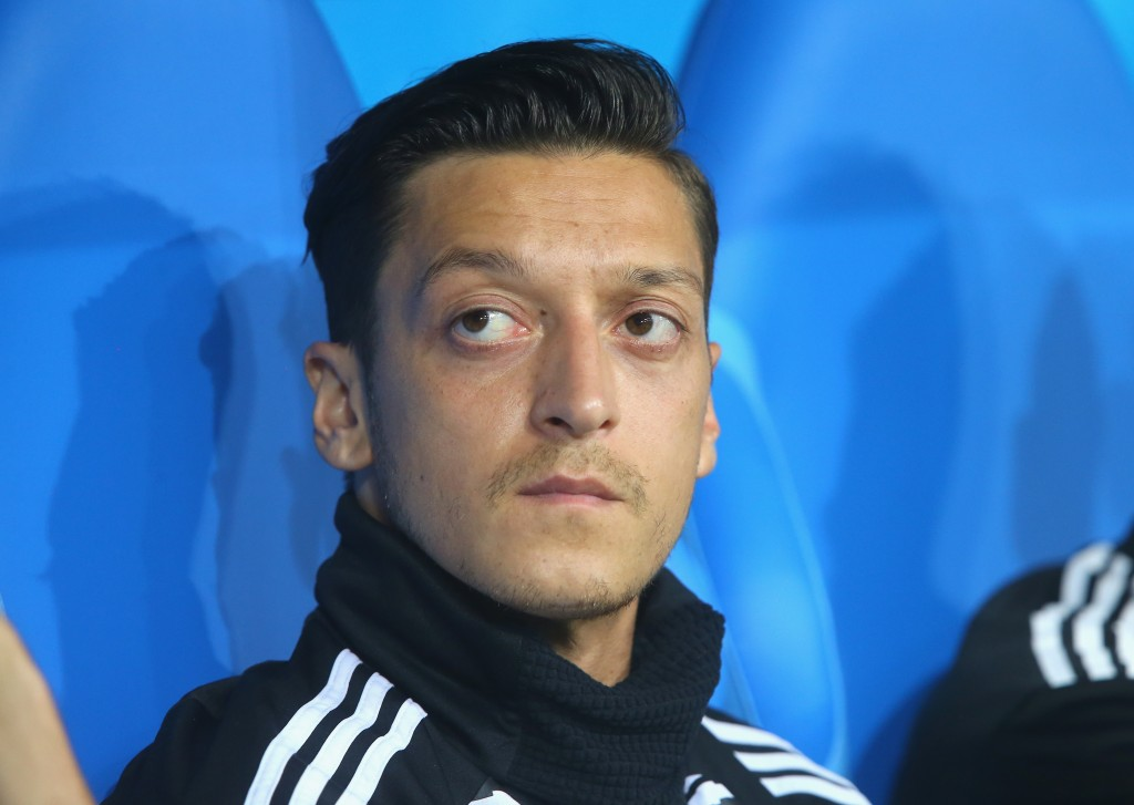 Ozil didn't get off the bench against Sweden, even as Germany chased a goal.