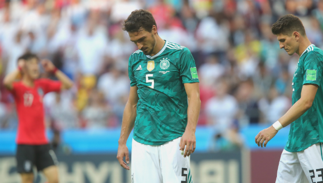 Hummels was in shock over Germany's World Cup exit.