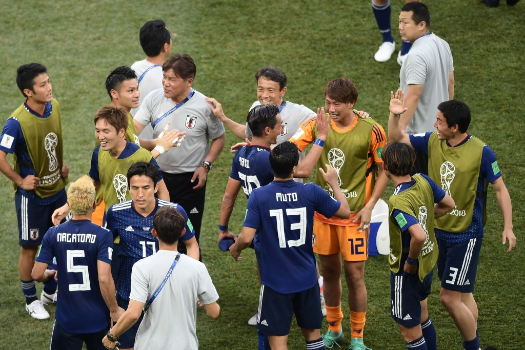 Japan qualified but only after a farcical ending.