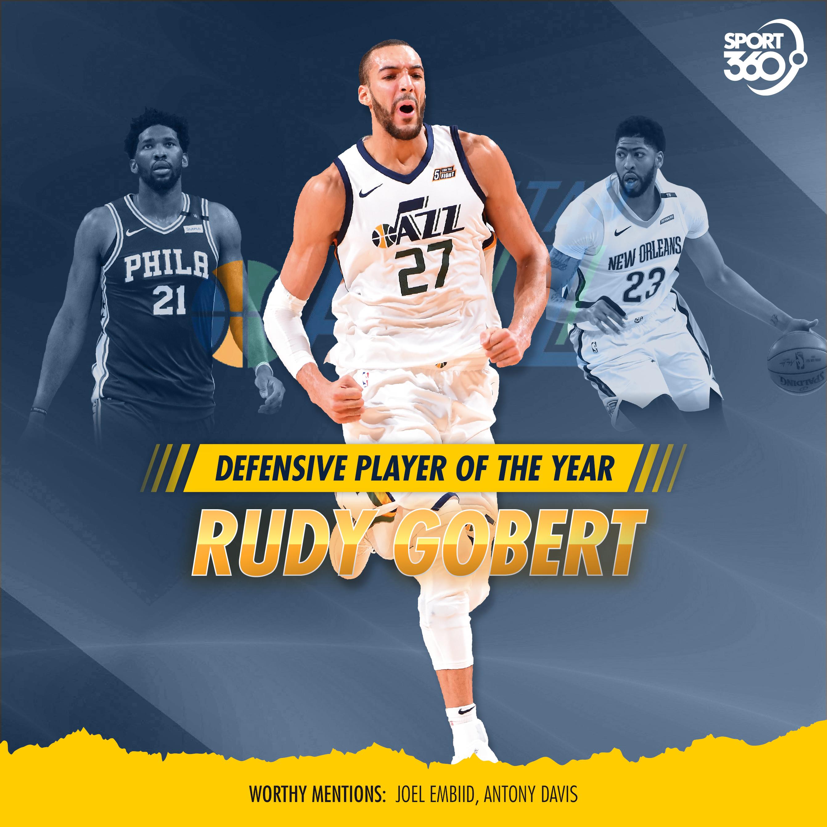 11 06 2018 NBA defense-gobert