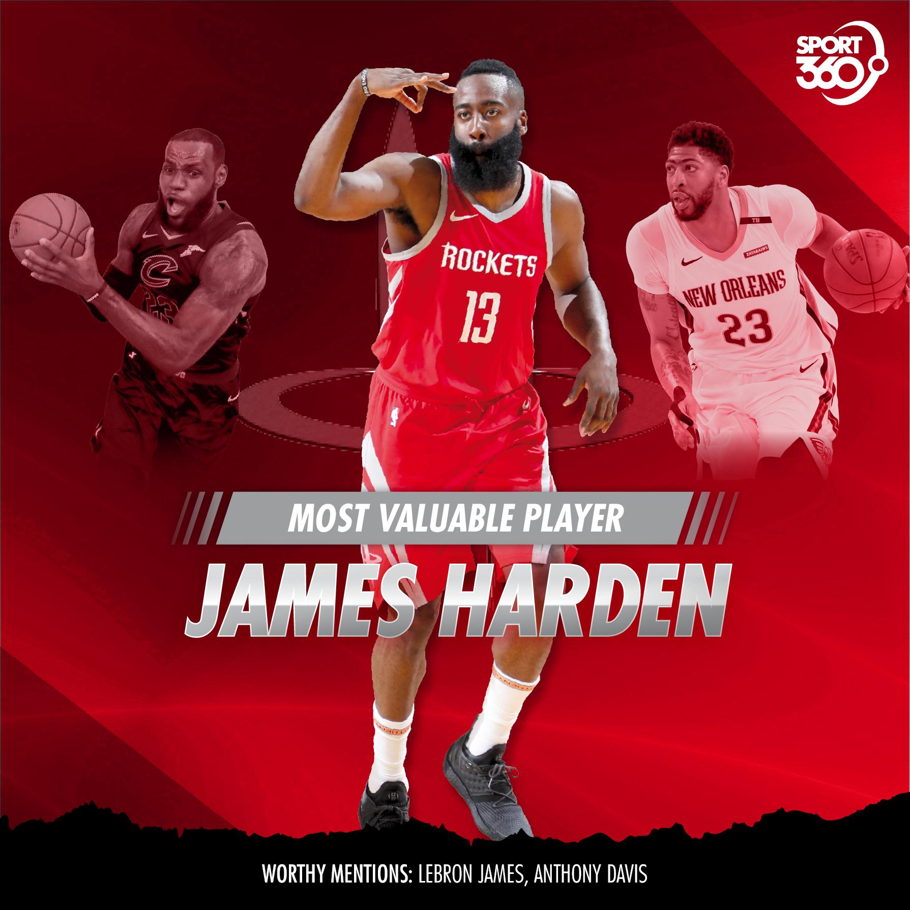 11 06 2018 NBA mvp-harden