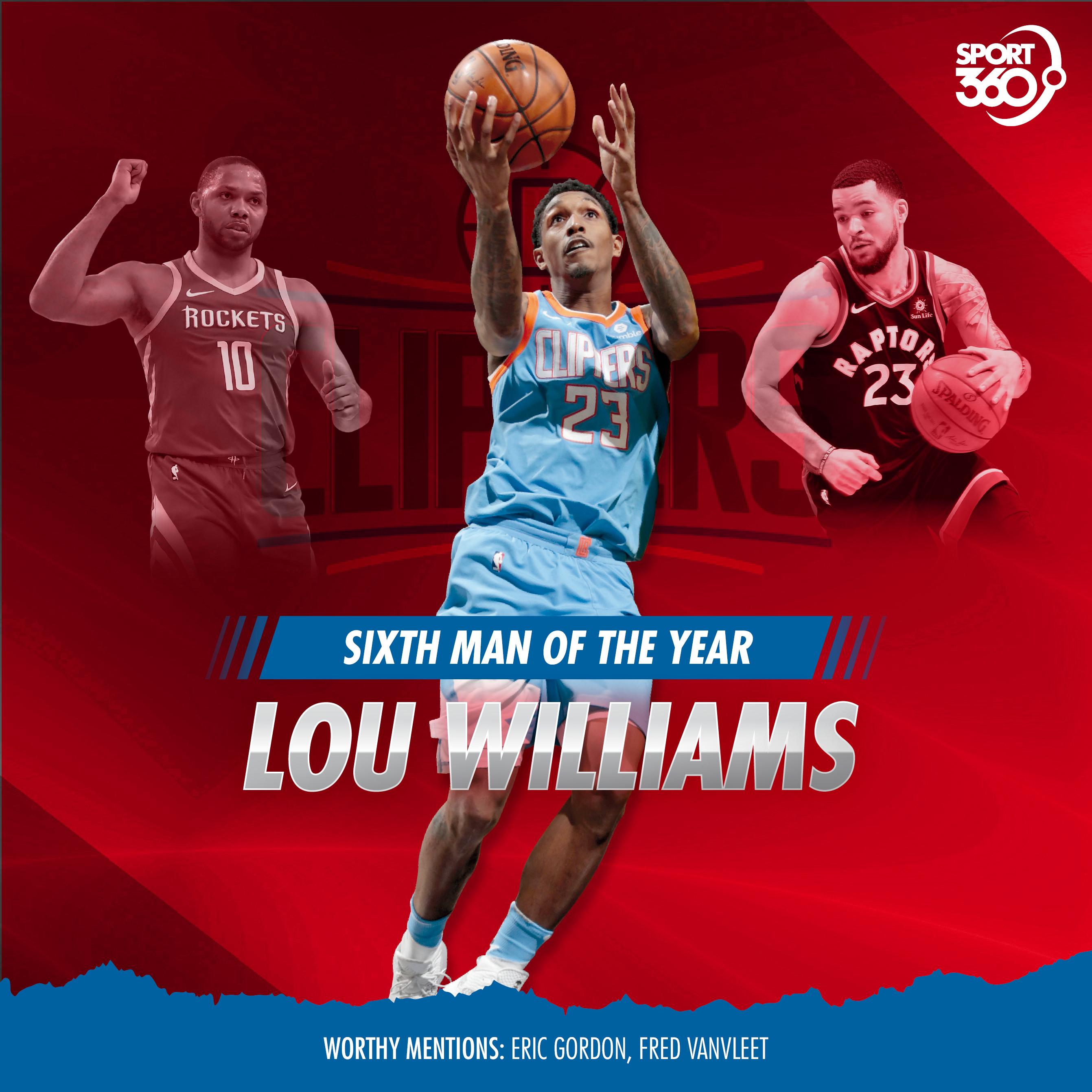 11 06 2018 NBA sixth man-williams