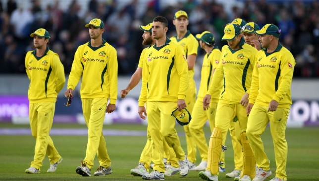 Australia's ODI form has been declining rapidly.
