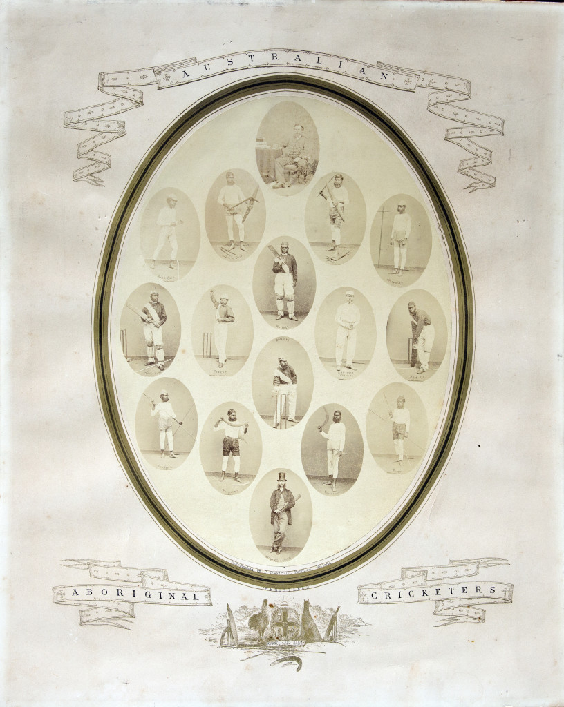 The original team portraits in 1868