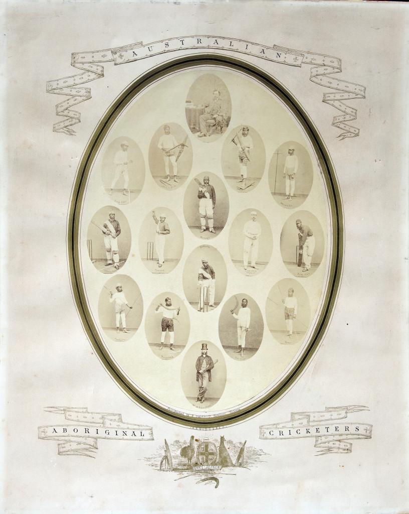 The original team portraits in 1868