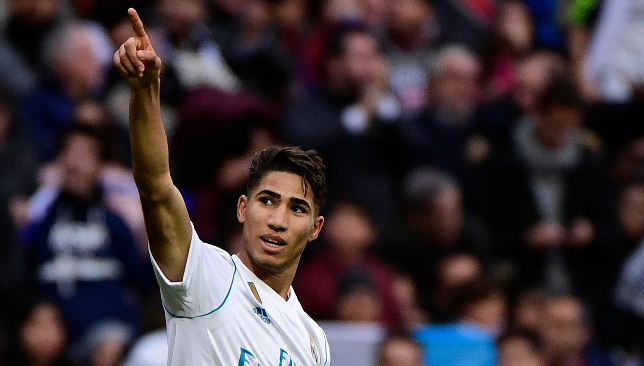 Moroccan and Real star: Achraf Hakimi.