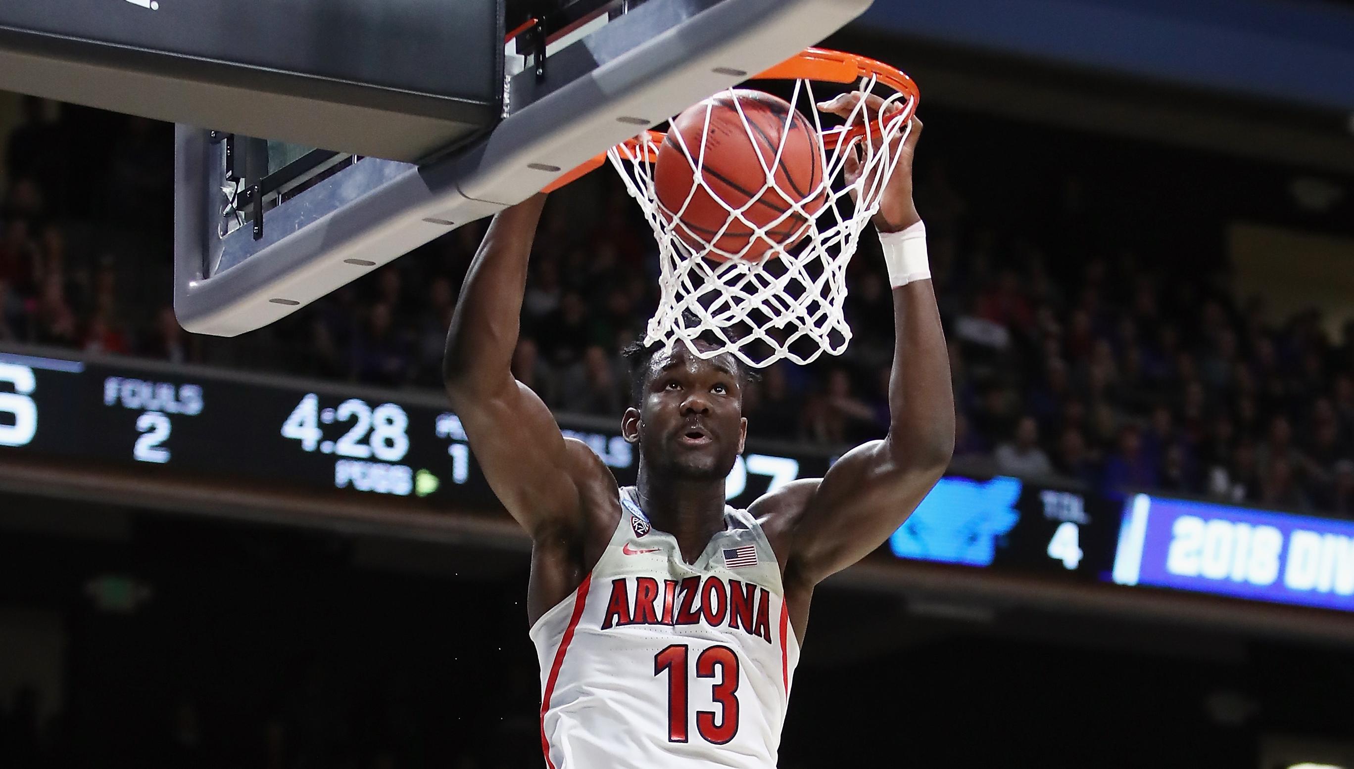 76a6ee549ea NBA draft 2018  Deandre Ayton leads off an unpredictable run in NBA mock  draft - Article - Sport360