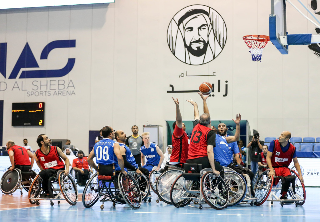 Action from the NAS Wheelchair Basketball Championship final where Dubai Municipality defeated Dubai Public Prosecution 63-46 for the title.