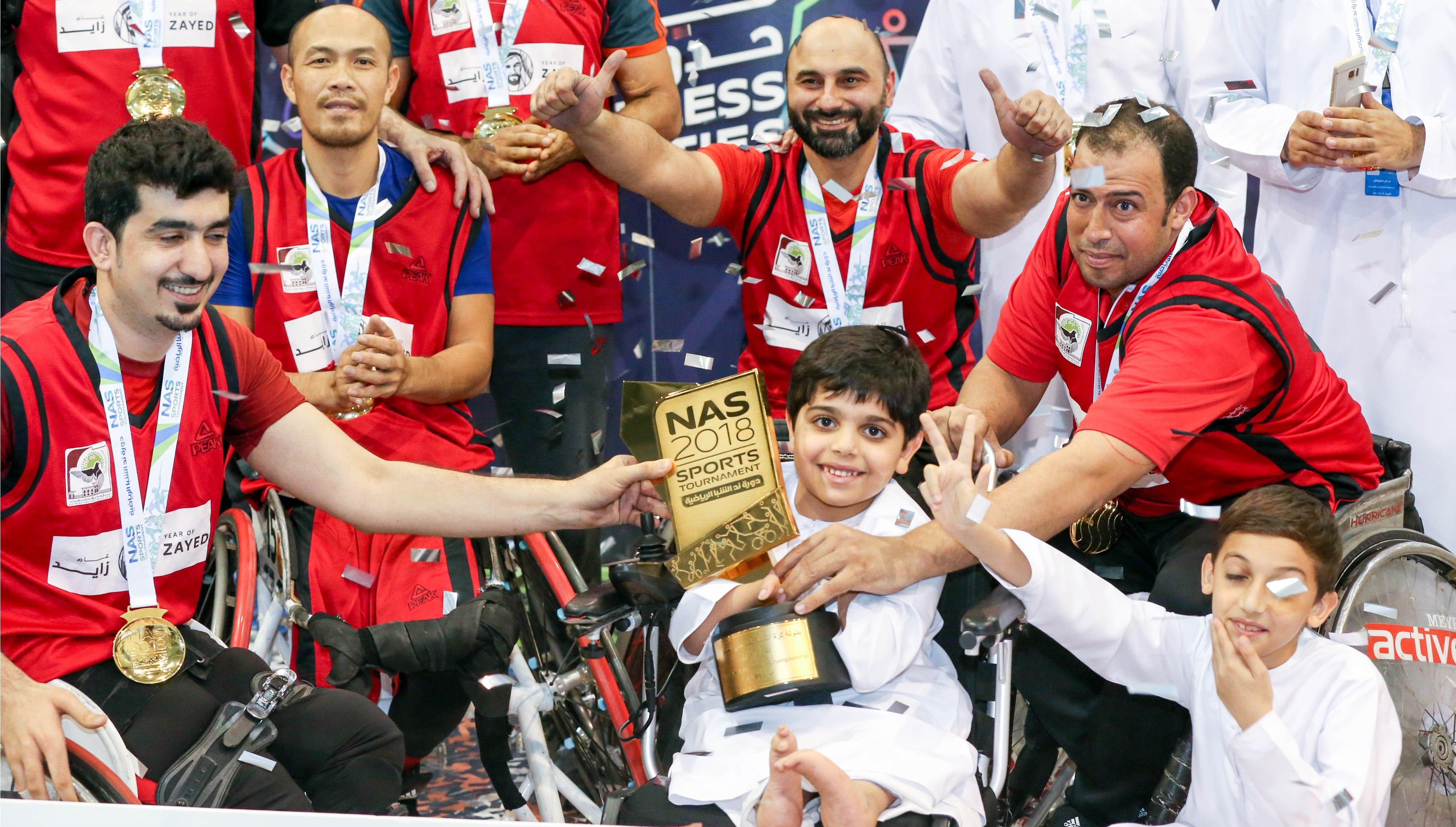 Dubai Municipality clinch NAS Wheelchair Basketball crown