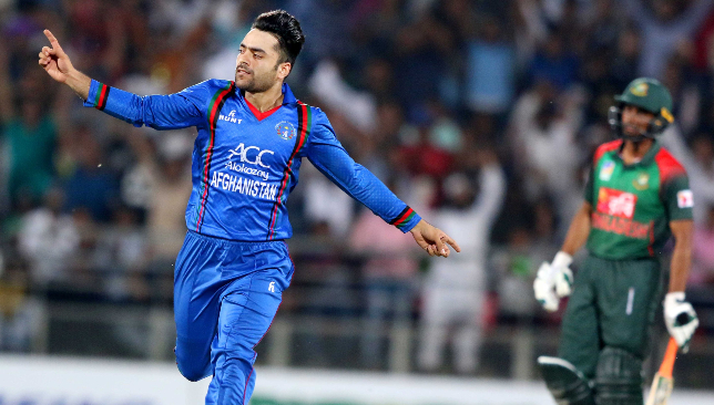 To the four: Rashid Khan