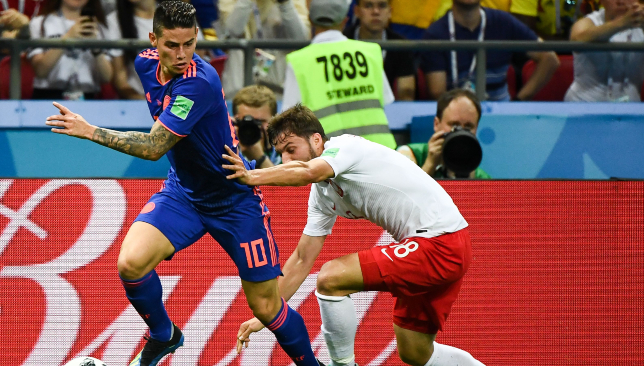 6469fbbd356 Bayern Munich superstar James Rodriguez is returning hero for Colombia at  World Cup 2018