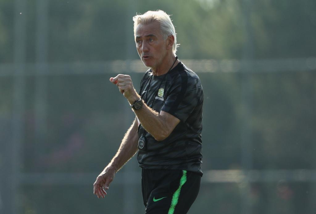 Australian head coach Bert van Marwijk