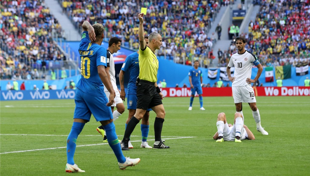 Neymar was notoriously off-colour against Costa Rica.