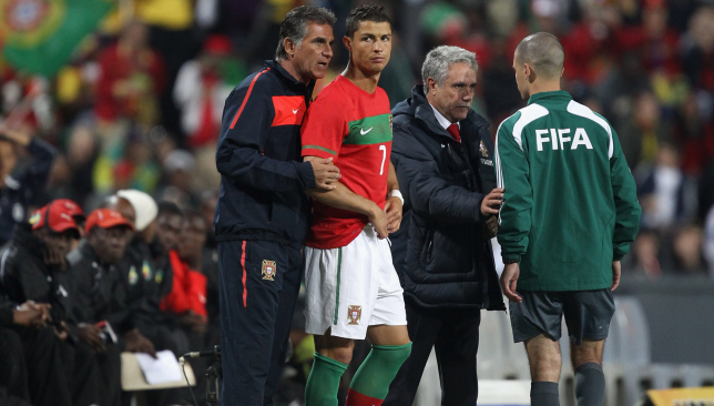 Queiroz managed Cristiano Ronaldo at both United and during his time in charge of his native Portugal.