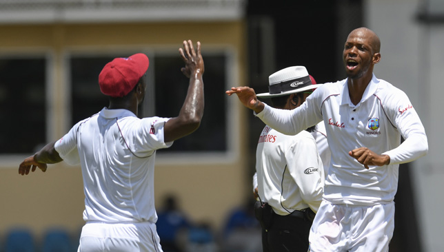 Roston Chase picked up four wickets for the Windies.
