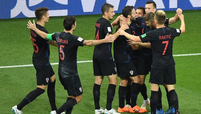 Croatia are into a first ever World Cup final.