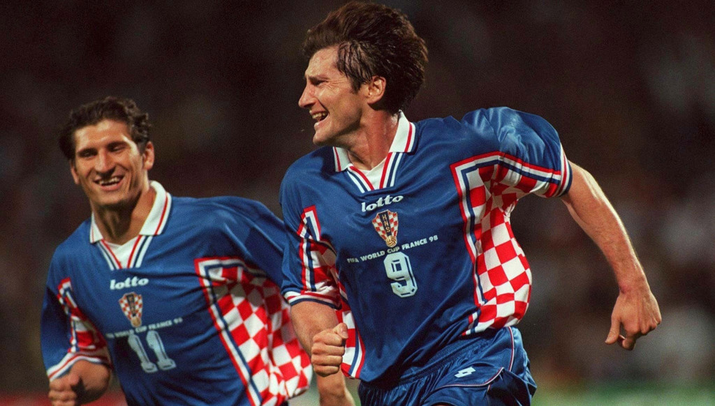 Davor Suker was sensational for Croatia at the 1998 World Cup.