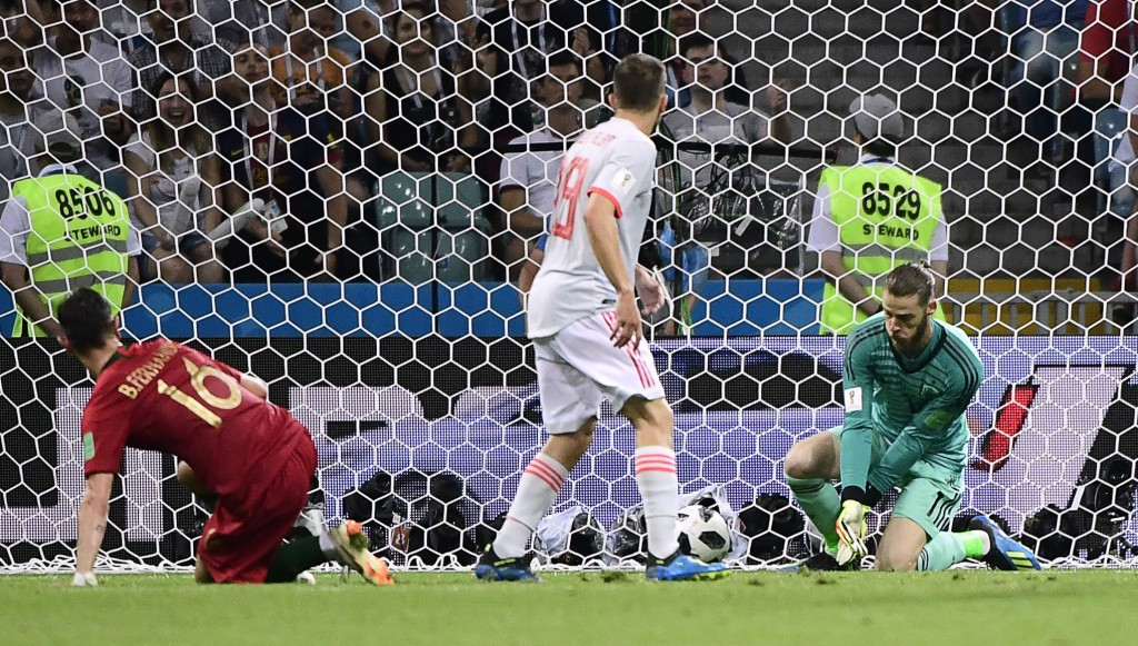 David de Gea's woes began with this mistake at last summer's World Cup.