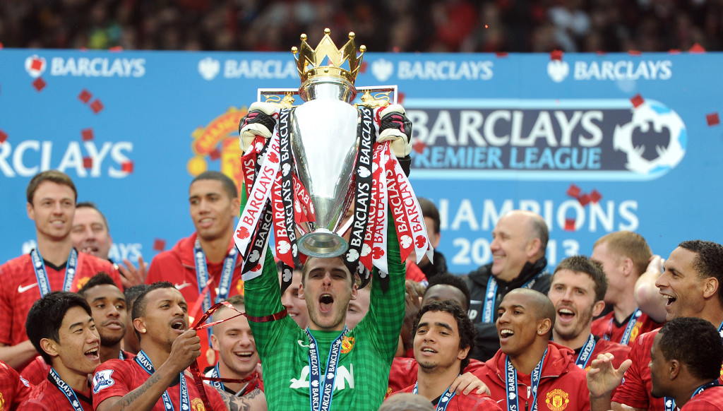 De Gea was part of the United side that last won the Premier League title in 2012/13.