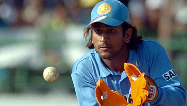Indian wicketkeeper Mahender Dhoni, who