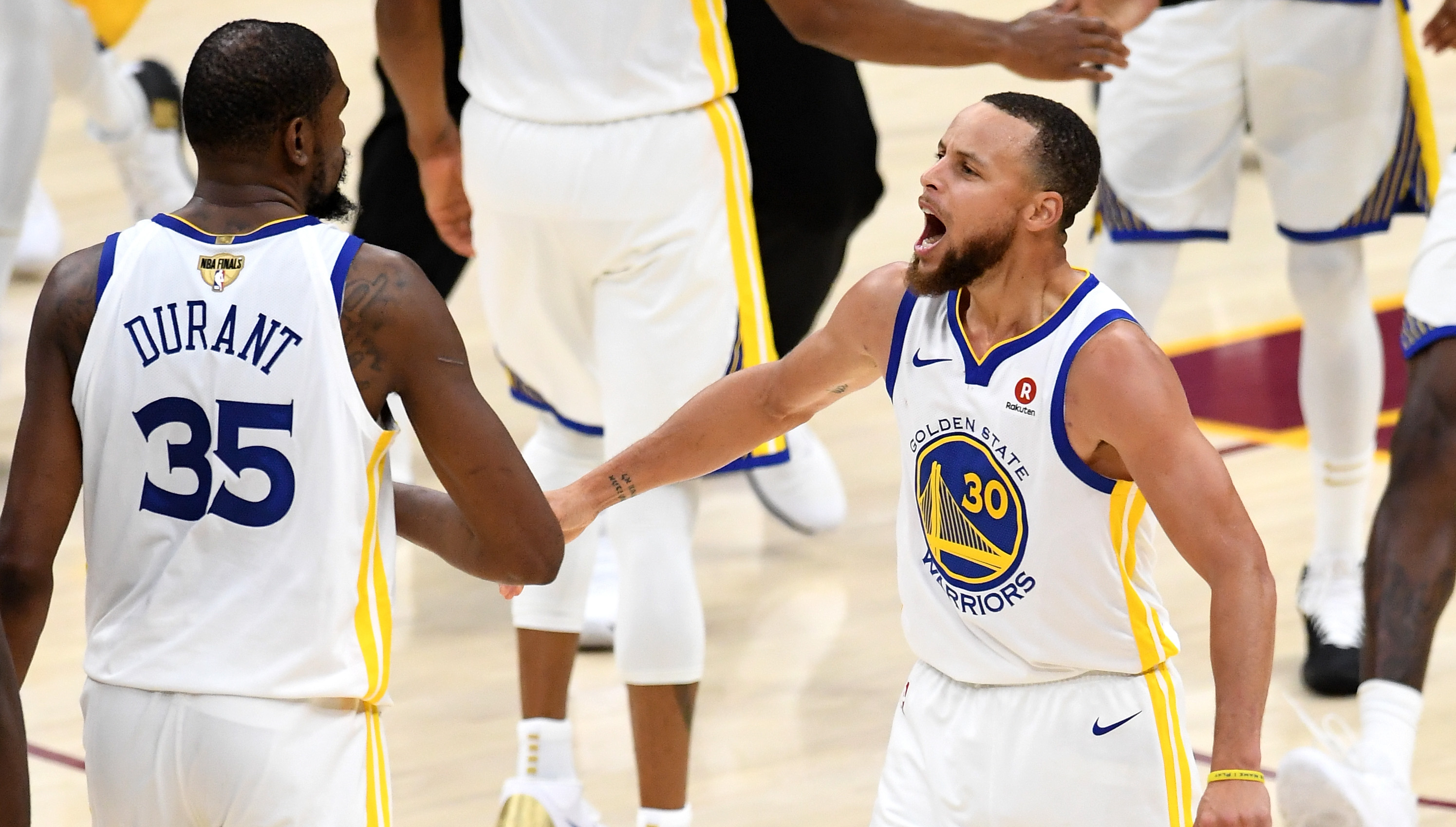 Golden State Warriors stars Kevin Durant and Stephen Curry are dueling for  Finals MVP 7c88ac3f0