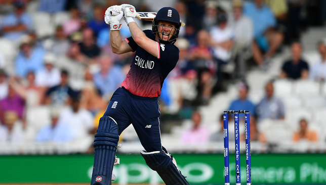 England skipper: Eoin Morgan