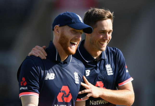 England have now lost both Stokes and Woakes to injury.