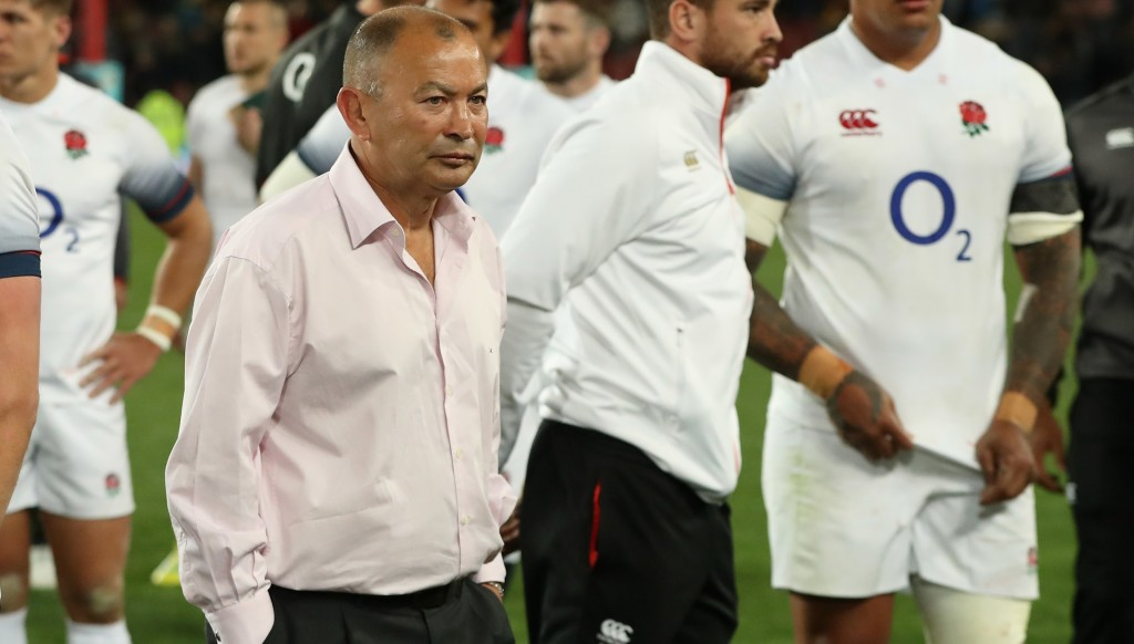 Eddie Jones after Boks