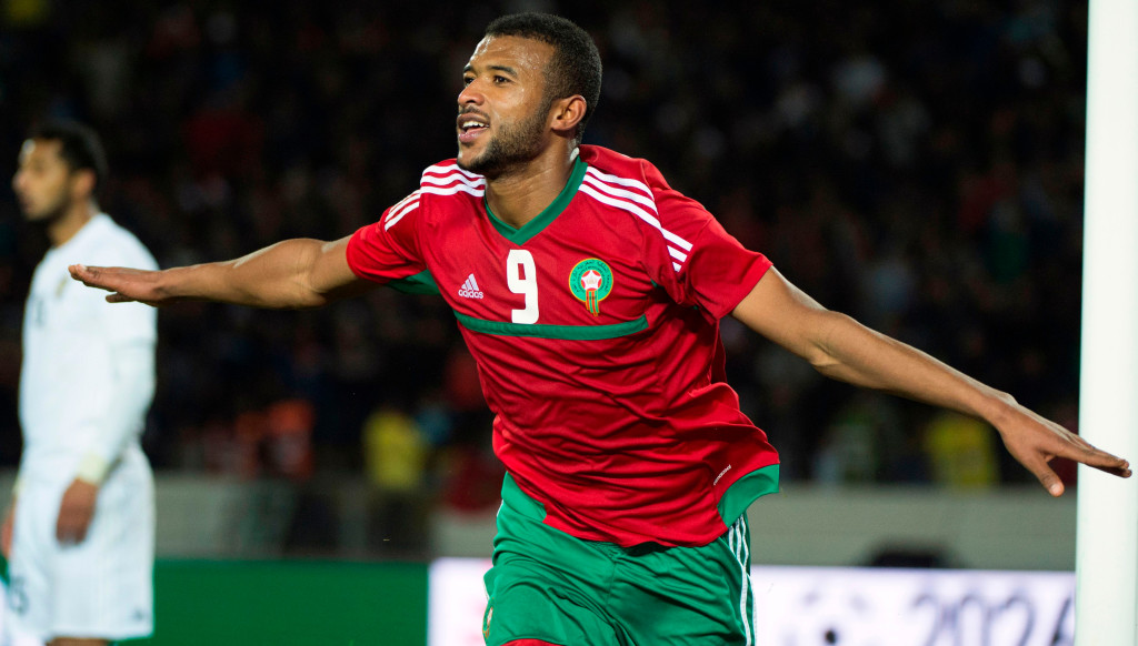 Ayoub El Kaabi has scored 11 goals in his first 10 Morocco appearances.