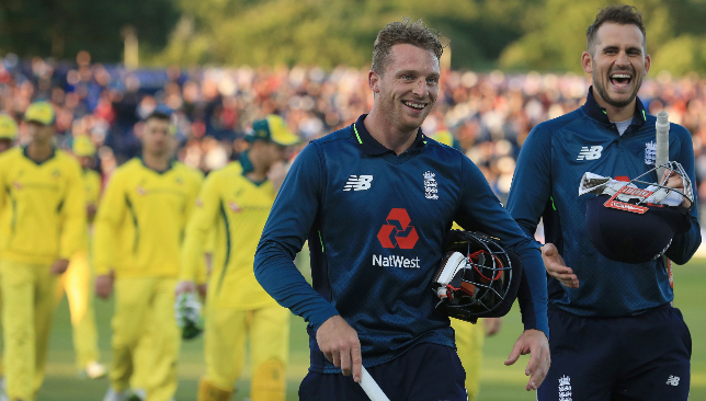 Jos Buttler and Alex Hales saw England over the line.
