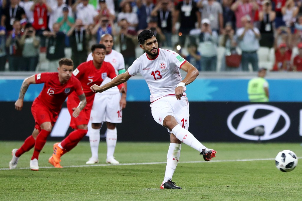 Ferjani Sassi slotted his penalty home coolly against England