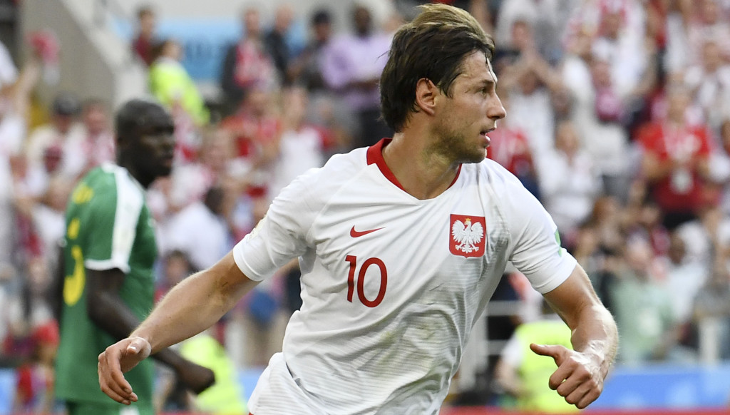 Grzegorz Krychowiak had a mixed afternoon in Moscow.